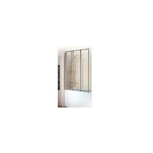 RIHO ALTA Parawan nawannowy 3-skrzydłowy 100, szkło transparentne GI0100100