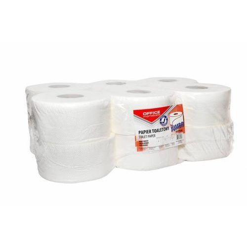 Papier toaletowy 2W celuloza JUMBO biały - X07411
