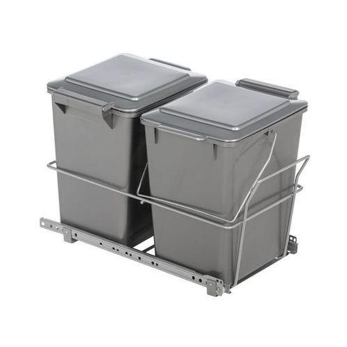 Kosz na śmieci PODWÓJNY (5907520711759)