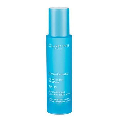 Clarins hydra-essentiel milky fluid spf15 krem do twarzy na dzień 50 ml dla kobiet (3380810109023)