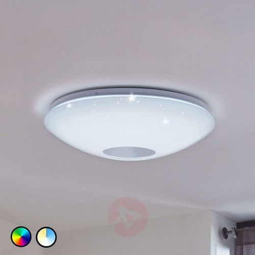 Eglo Plafon voltago-c 96684 lampa sufitowa 1x17w led rgb biały (9002759966843)