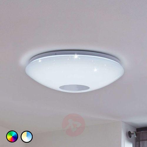 Plafon voltago-c 96684 lampa sufitowa 1x17w led rgb biały marki Eglo