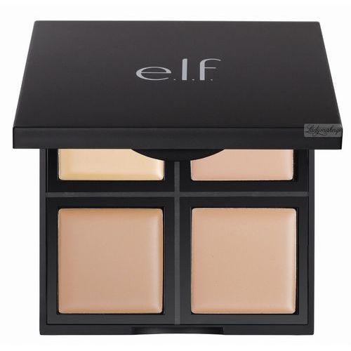 Elf  - foundation palette - paleta 4 kremowych podkładów - 83317 light/medium