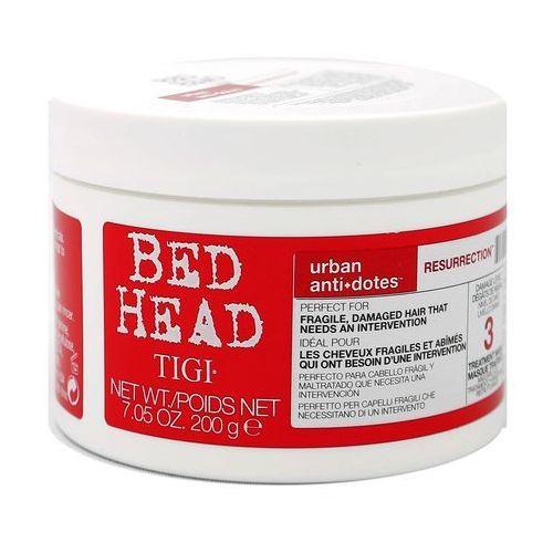 Tigi bed head urban antidotes resurrection | odbudowująca maska do włosów słabych i łamliwych 200g