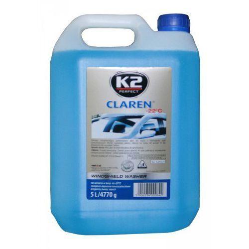Płyn zimowy do spryskiwaczy K2 Claren -22°C 5 Litrów