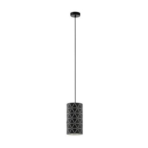 Eglo Ramon 98352 lampa wisząca zwis oprawa 1x40W E27 czarna/biała, 98352