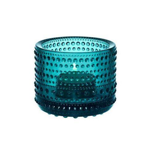 Iittala Kastehelmi świecznik na tealight, emerald - (6411923655774)