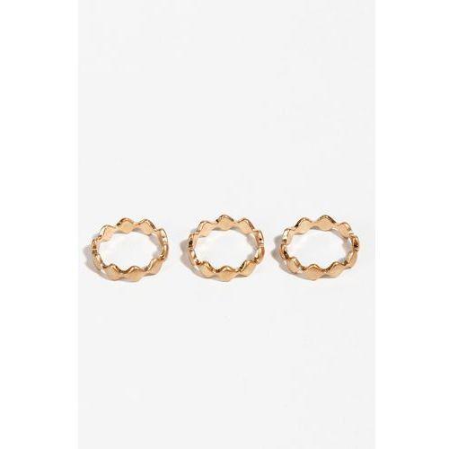 - pierścionki (3 sztuki) marki Parfois