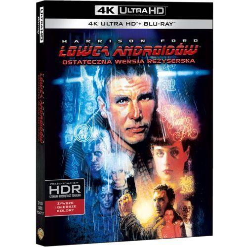 Łowca androidów 4K (Blu-ray) (Blade Runner) - Ridley Scott. DARMOWA DOSTAWA DO KIOSKU RUCHU OD 24,99ZŁ (7321999347178)