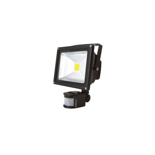Hadex Led reflektor z czujnikiem ruchu t262 30w led ip65