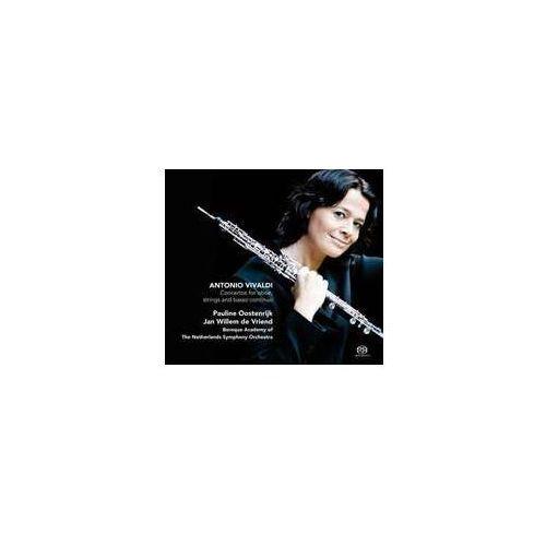 Antonio vivaldi: concertos for oboe, strings & basso continuo [hybrid sacd] marki Challenge classics