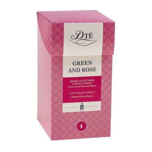green and rose tea 12 torebek marki Diemme