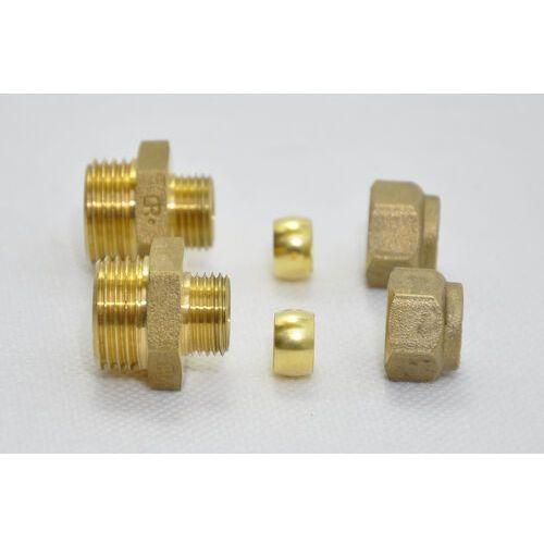 Conex 2 x łącznik prosty dzr 10 x 1/2 - do nagrzewnic hdw