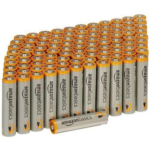 AmazonBasics Performance Alkaline Batteries AAA, LR03G07(100FFP)AB-US