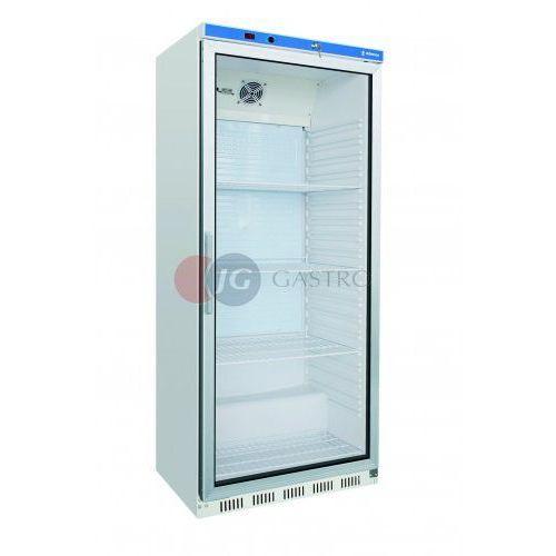 Edenox Szafa chłodnicza 1-drzwiowa przeszklona 600 l aps-601-c