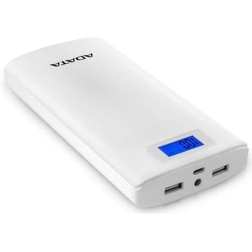Mobilna bateria PowerBank ADATA P20000D 20000mAh biały (4713218461063)