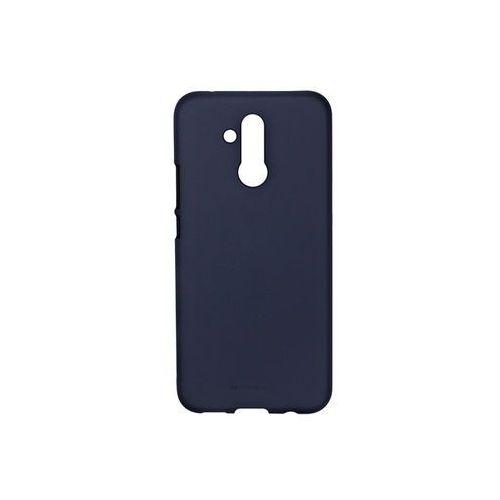 Huawei Mate 20 Lite - Mercury Goospery Soft Feeling - granatowy, kolor niebieski