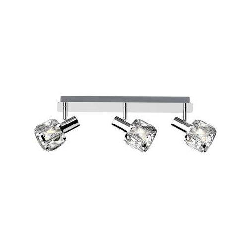 niasa ck20181015-3 listwa lampa sufitowa spot 3x40w e14 srebrna marki Zuma line