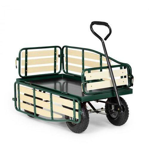 Waldbeck Ventura wózek ręczny wózek gospodarczy duże obciążenia ładunek 300 kg stal (4260457486444)