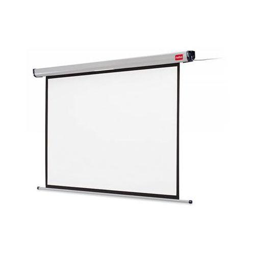 Ekran projekcyjny NOBO, ścienny, elektryczny, 4:3, 1600x1200mm, biały (5028252172707)