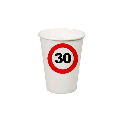 Folat Kubeczki znak zakazu 30tka - 350 ml - 8 szt. (8714572627306)