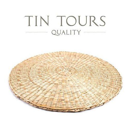 Okrągła podstawka z trawy morskiej grubość 0,8cm fi 30cm marki Tin tours sp.z o.o.