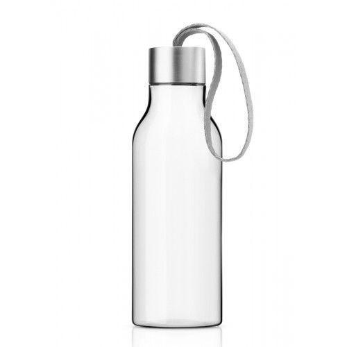 Butelka na wodę z troczkiem Marble Grey, 0,7 l - Eva Solo