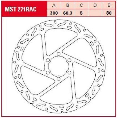 TRW Tarcza hamulcowa MST271RAC KTM DUKE 200 RC 390