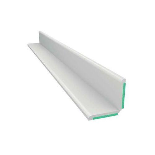 Emaga Kątownik biały z pianką samoprzylepną obustronny 25x25mm l=50mb