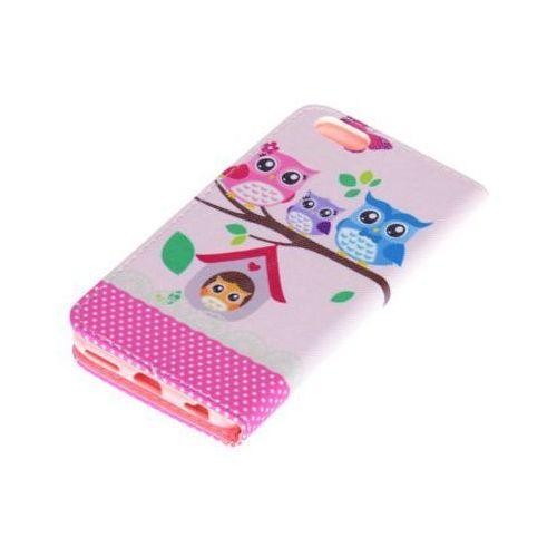 Etui flipbook do huawei y3 ii różowy marki Wg