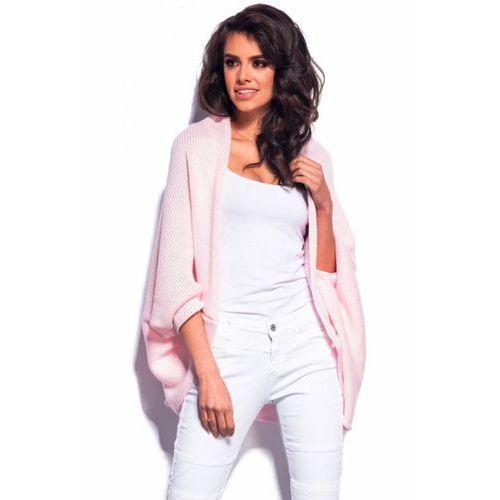 Sweter Damski Model LS179 Powder Pink, kolor różowy