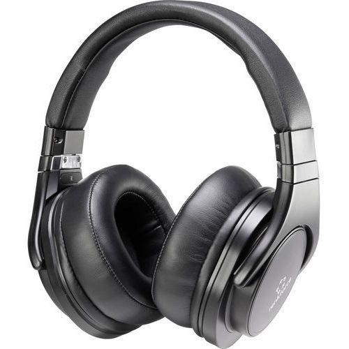 Słuchawki Hi-Fi, nauszne Renkforce HP-P266, 20 - 20 000 Hz, czarny
