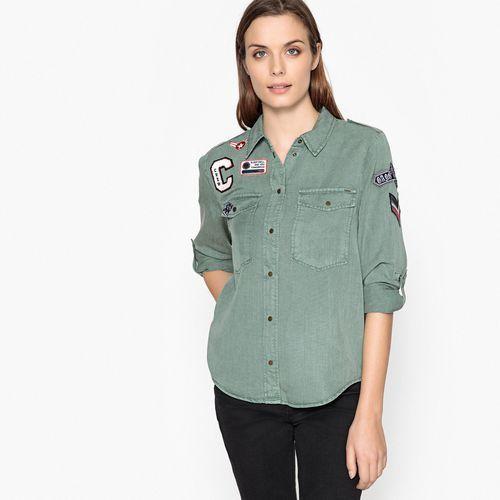 Koszula z kołnierzykiem polo i długim rękawem (5713610015917)