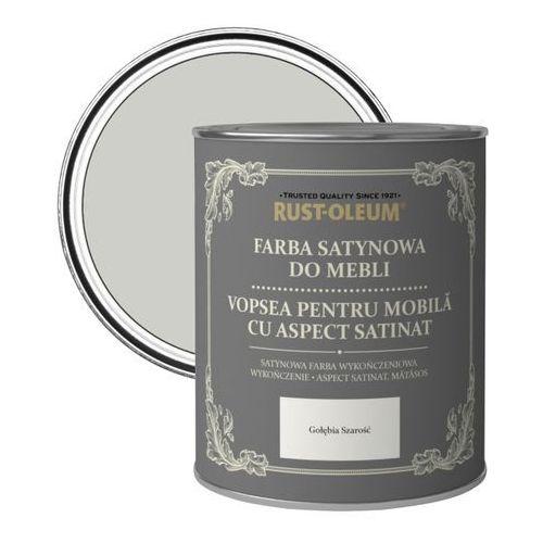 Farba do mebli Rust-Oleum gołębia szarość satyna 0,125 l, R0070115X5
