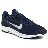 Buty - downshifter 9 aq7481 401 midnight navy/pure platinum marki Nike