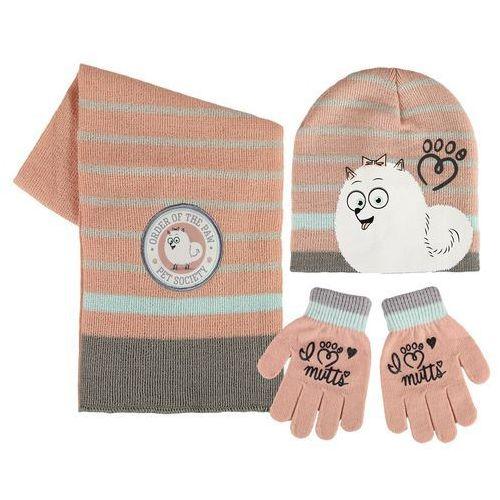 Cerda Czapka, szalik i rękawiczki sekretne życie zwierzaków domowych