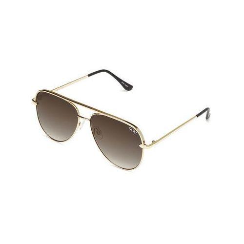 Okulary słoneczne qw-000174 sahara gld/smktpe marki Quay australia