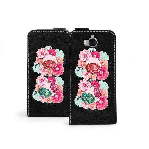 Huawei Y6 (2017) - etui na telefon Flip Fantastic- róże