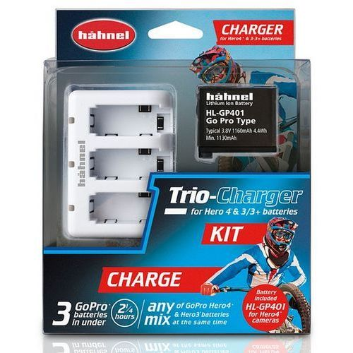 Hähnel Hahnel trio charger kit
