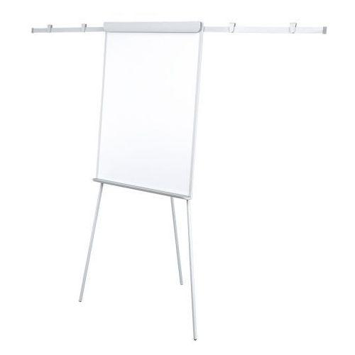2x3 Flipchart biurowy pro grey z ramionami, alu