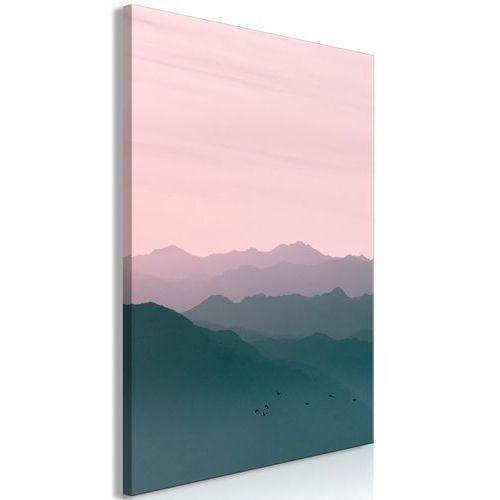 Obraz - góry o wschodzie słońca (1-częściowy) pionowy marki Artgeist