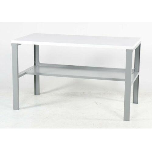 Basic Stół Warsztatowy, Biały Blat 1200Mm, Nośność 250Kg Tak