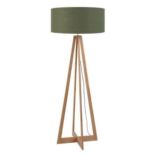 EVEREST-Lampa podlogowa Bambus & Len Naturalny Wys.127cm (8716248074667)