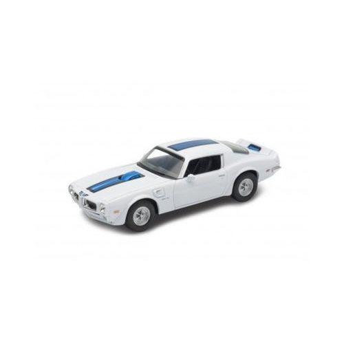 1972 pontiac firebird trans, biały - darmowa dostawa od 199 zł!!! marki Welly