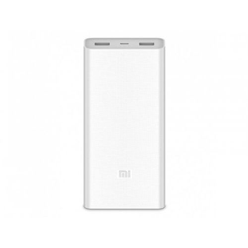 Xiaomi power bank 2c 20000 mah 2.4a, qc 3.0 biały