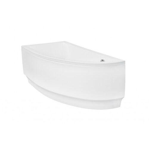 Besco Praktika obudowa do wanny 140 cm lewa biała OAP-140-NL (5908239684532)