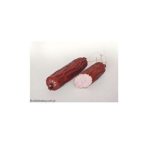 Wasąg Kiełbasa sucha drobiowa z wieprzowiną bio (około 0,25 kg)