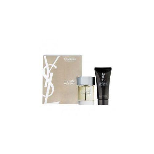 Yves Saint Laurent L'Homme, zestaw perfum EDT 100ml + 100ml żel pod prysznic (M) (3365440614390)