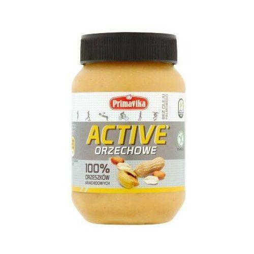 Primavika - Masło Orzechowe 100% ACTIVE 470g (5900672302042)