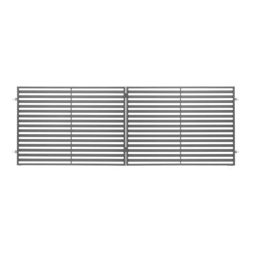 Brama dwuskrzydłowa Polbram Steel Group Brava 300 x 120 cm (5901891479478)